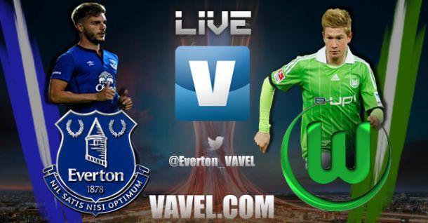 Everton vs Wolfsburgo en vivo y en directo online