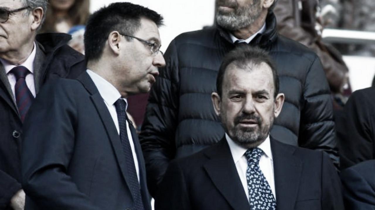 """La bomba de Ángel Torres:""""Me consta que quieren que bajen dos equipos de Madrid"""""""
