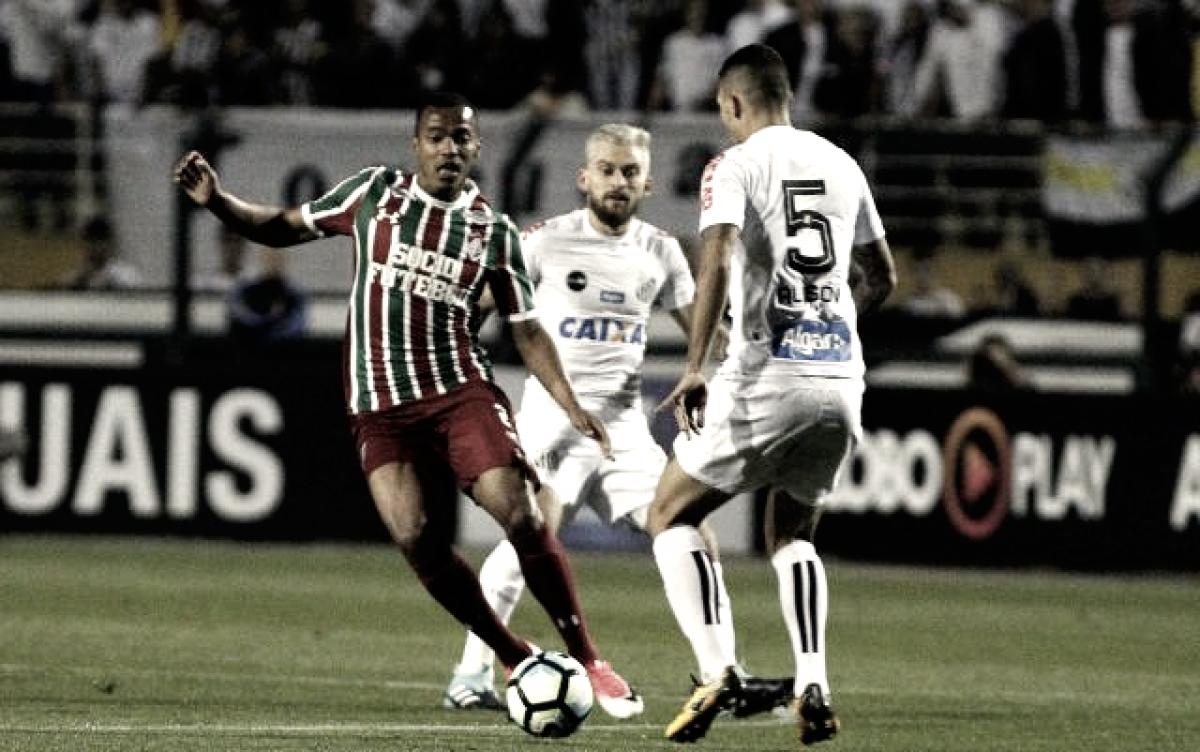 Pressionados, Fluminense e Santos miram vitória antes da parada para o Mundial