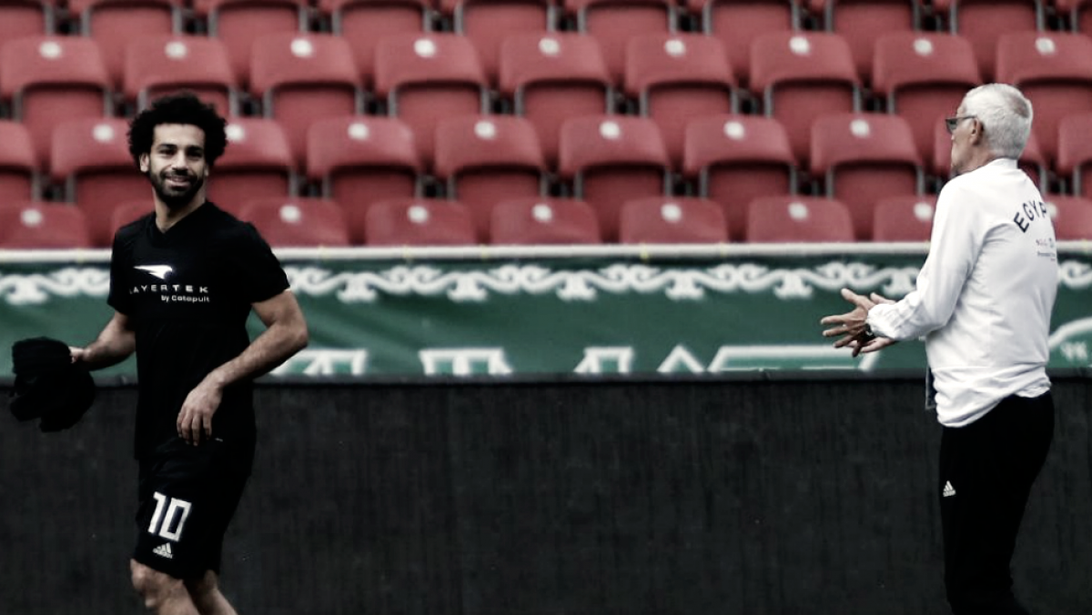 "Héctor Cúper: ""Salah jugará contra Uruguay salvo imprevisto"""