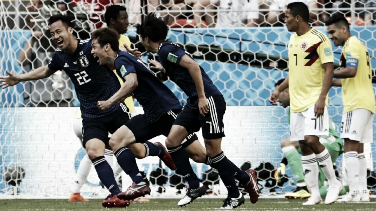 Japón dio el golpe ante Colombia