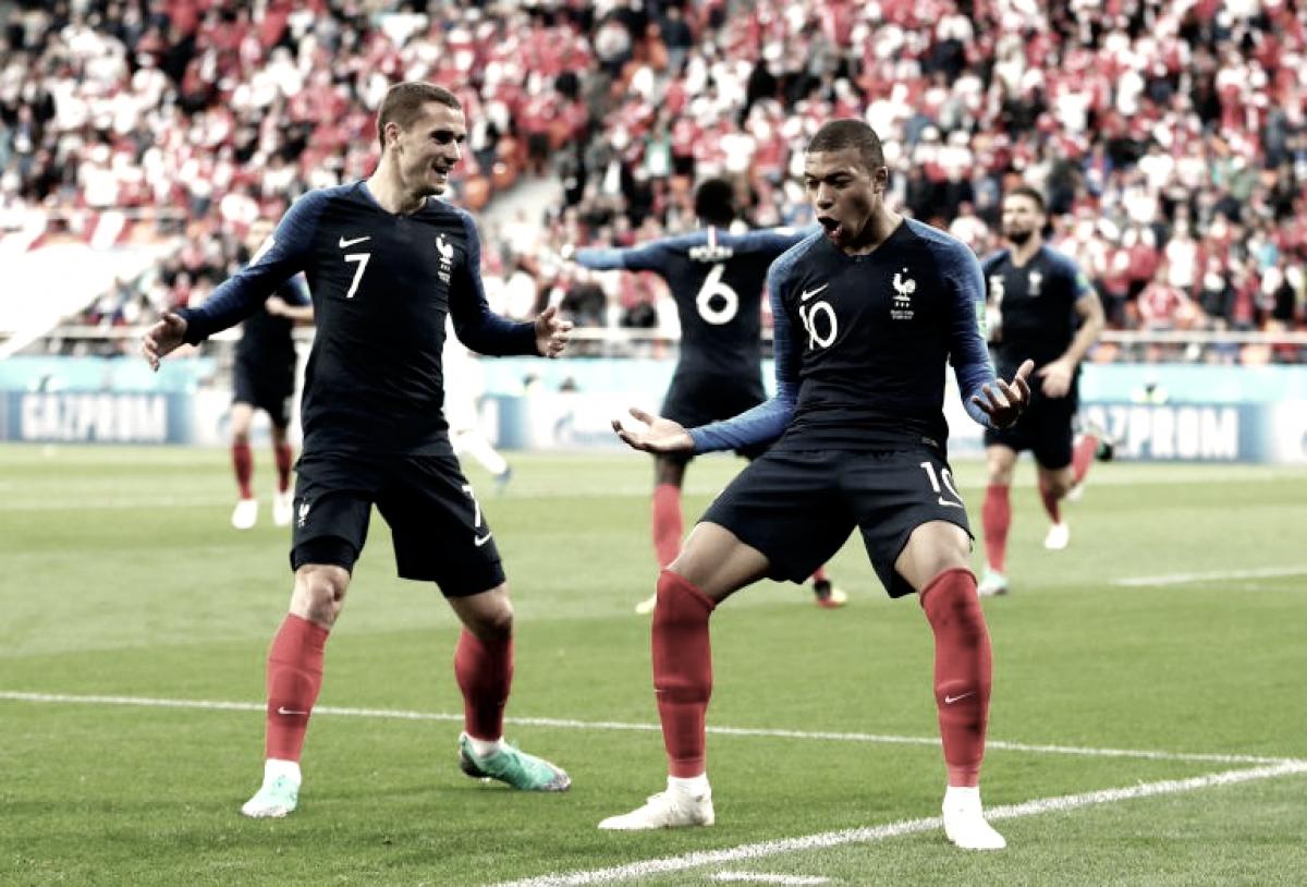 Mbappe le da el triunfo a Francia y despide a Perú de Rusia