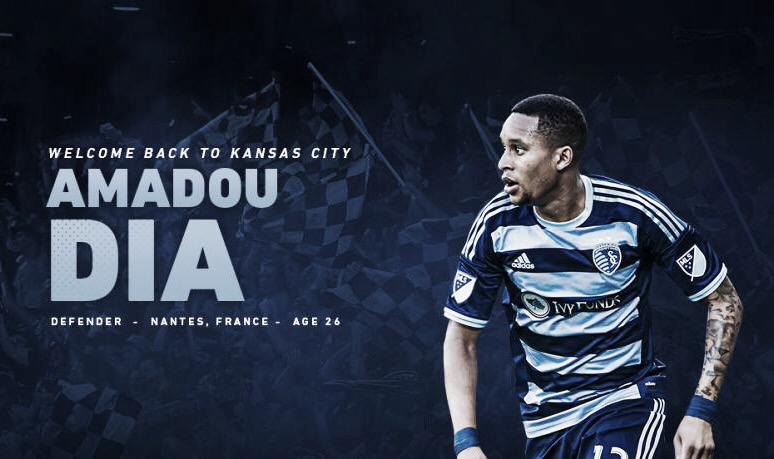Amadou Dia vuelve a Sporting Kansas City