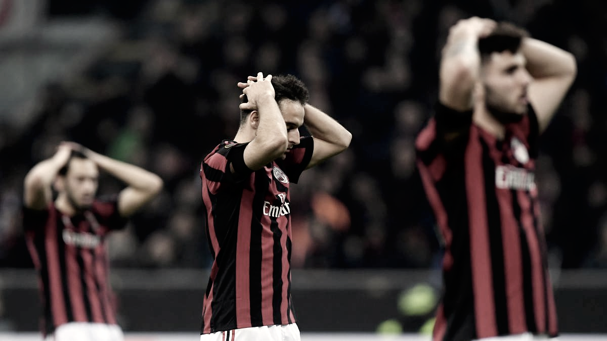 Milan, dos años sin competiciones europeas