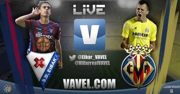 Eibar vs Villarreal en vivo y en directo online