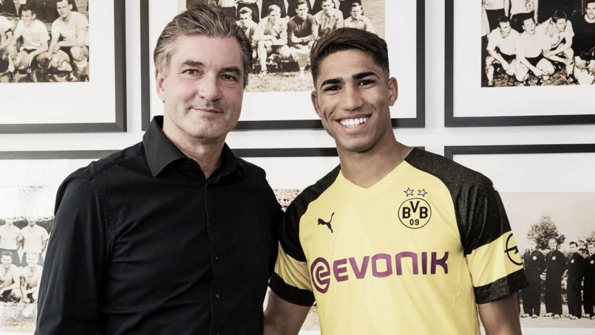 Achraf se marcha al Borussia Dortmund