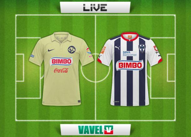 Resultado América - Monterrey en la Liga MX 2014 (0-0)