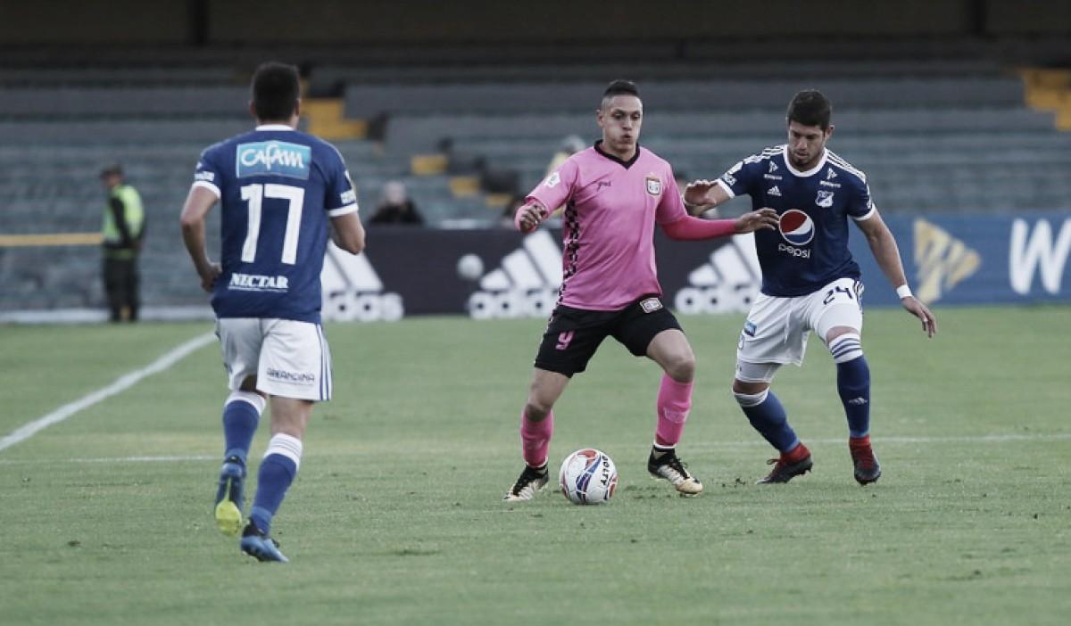 Boyacá Chicó sacó un valioso empate ante Millonarios en El Campín