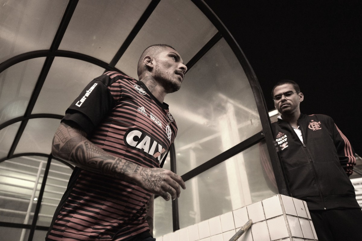 Último dia de contrato: passagem de Guerrero teve altos e baixos durante três anos no Flamengo