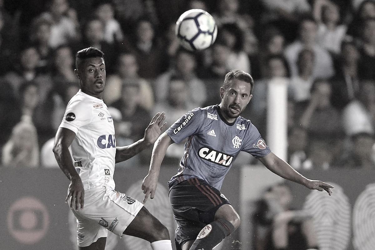 Na Vila, Santos e Flamengo ficam apenas no empate, e São Paulo pode assumir a liderança
