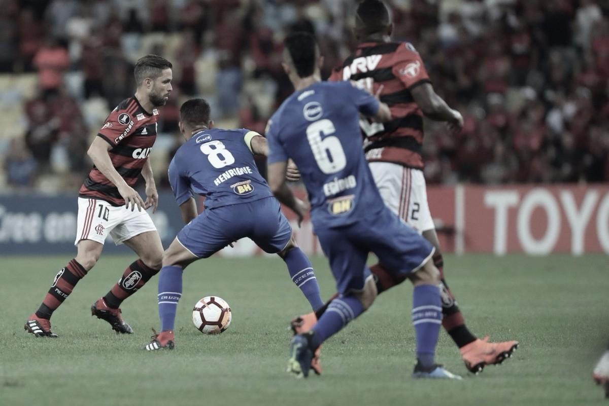 Resultado Cruzeiro x Flamengo na Copa Libertadores 2018 (0-1)