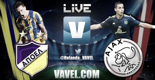 APOEL Nicosia - Ajax Live Score and Text Commentary of 2014 UEFA Champions League | VAVEL.com