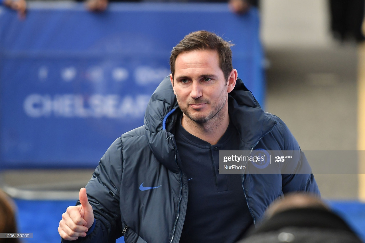 Lampard 'very proud' to be Chelsea manager