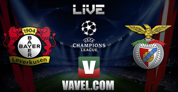 Liga dos Campeões: Bayer Leverkusen x Benfica,