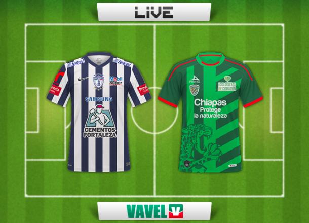 Resultado Pachuca - Chiapas en Liga MX 2014 (2-0)