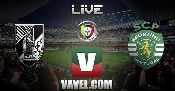 Resultado partido Vitória Guimarães vs Sporting en vivo y en directo online