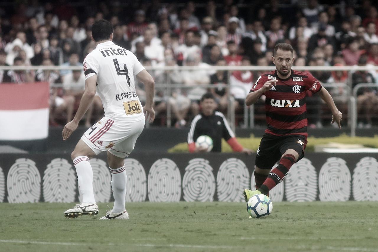 Para voltar à liderança, São Paulo recebe os reservas do Flamengo no Morumbi