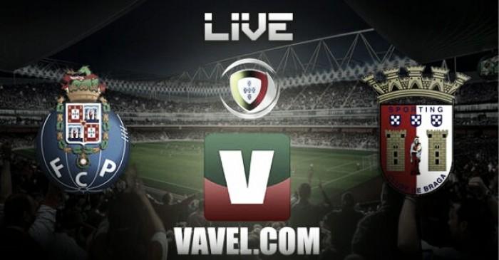 Partido Porto vs Sporting de Braga en vivo y en directo online en Liga NOS 2016