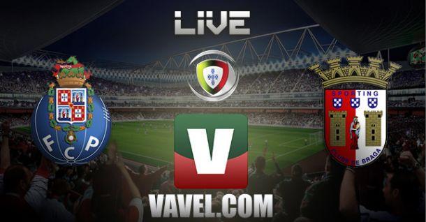 Oporto vs Sporting de Braga en vivo y en directo online