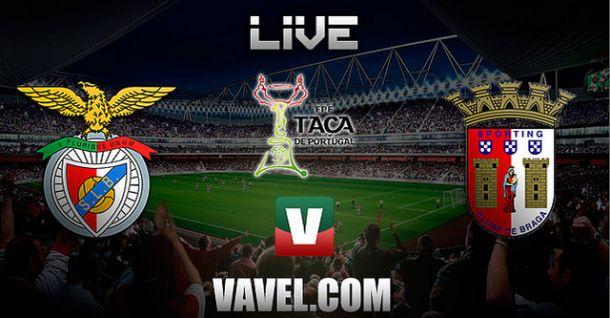 Jogo Benfica x Braga    na Taça de Portugal 2014