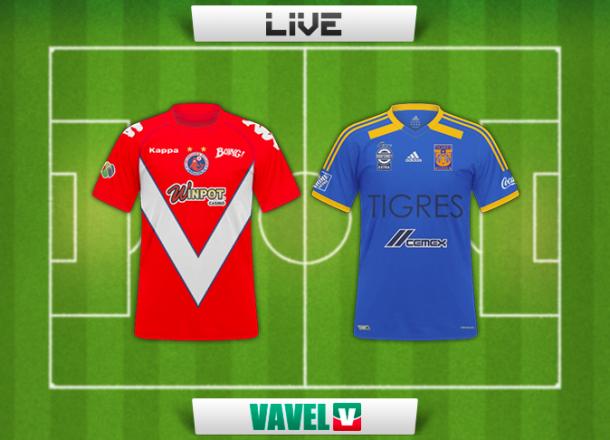 Resultado Veracruz - Tigres en Liga MX 2014 (0-1)