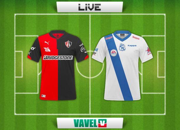 Resultado Atlas - Puebla en la Liga MX 2014 (2-1)