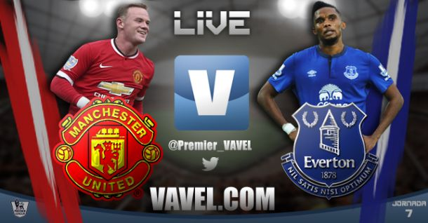 As it happened: Manchester United - Everton