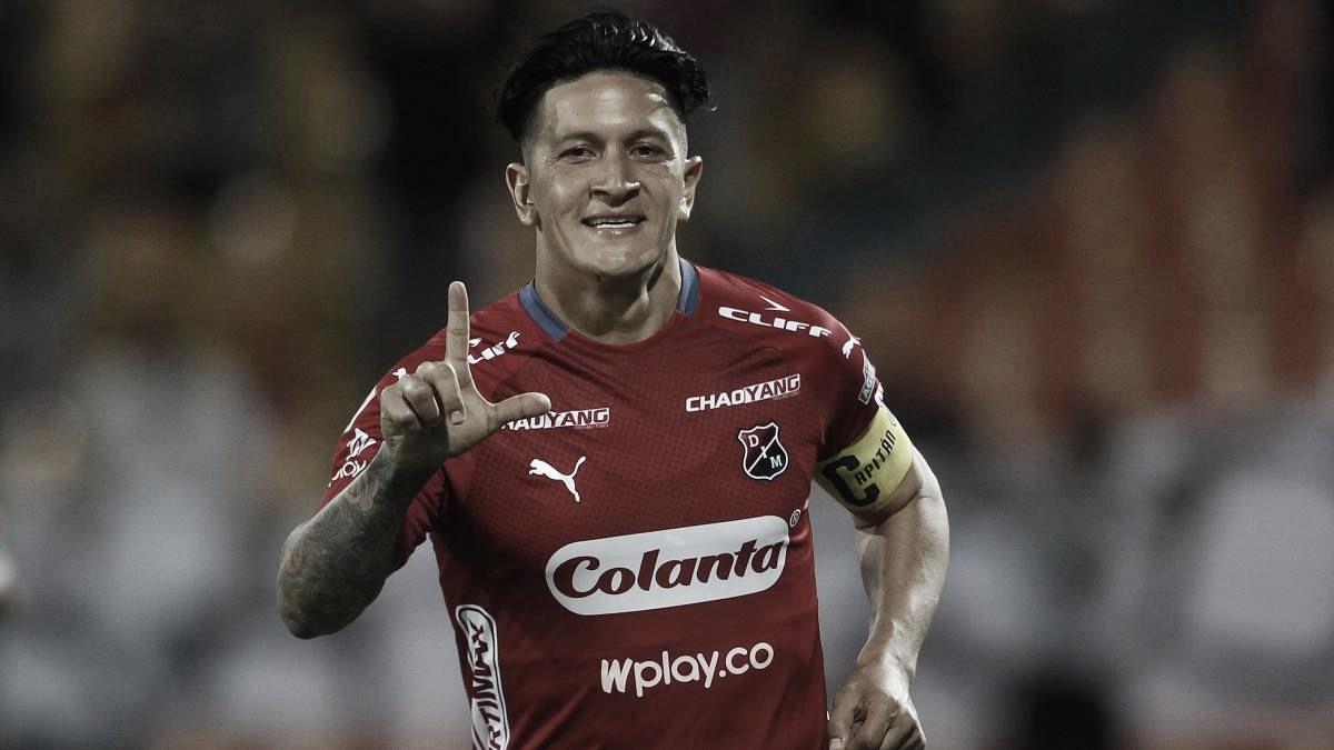 """Germán Cano: """"El objetivo a corto plazo es quedar campeón con Medellín este semestre"""""""