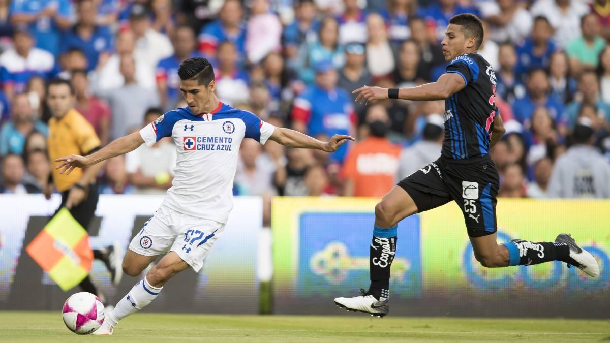 Resultado y goles del Cruz Azul vs Querétaro en Liga MX (3-0)