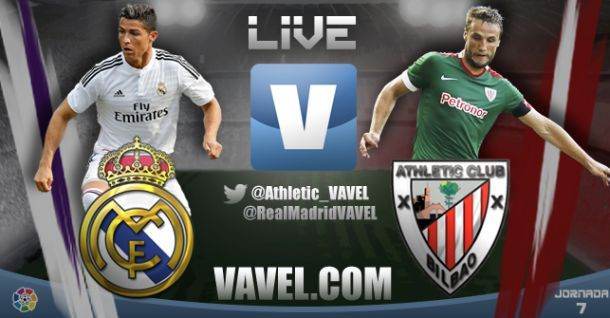 Live Liga BBVA : le match Real Madrid vs Athletic Bilbao en direct