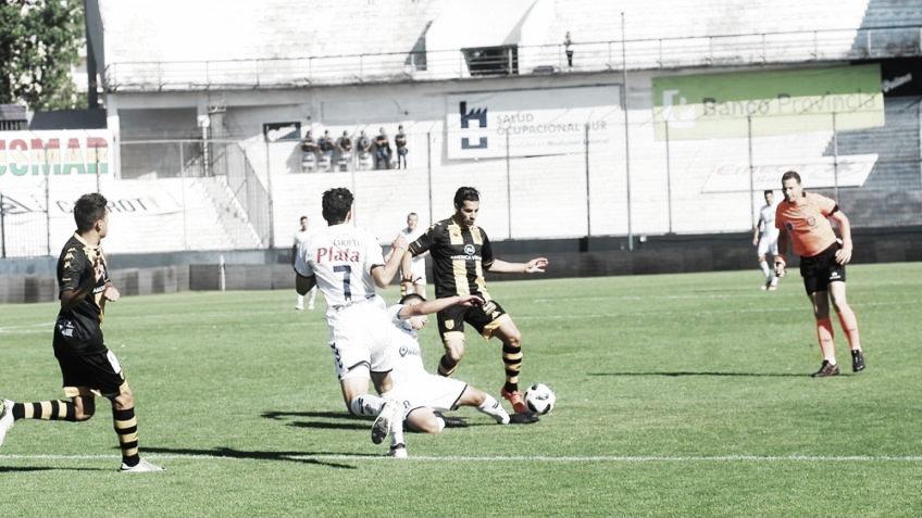 Quilmes jugó bien pero no pudo superar a Santamarína