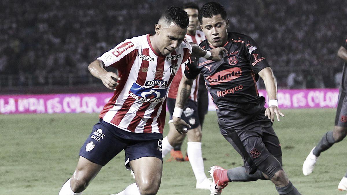 Crónica: una caída estrepitosa del Medellín ante Junior en la ida de la final