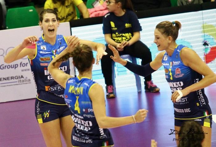 Volley F - Si apre la Champions League. Domani giocherà Conegliano, giovedì toccherà a Modena