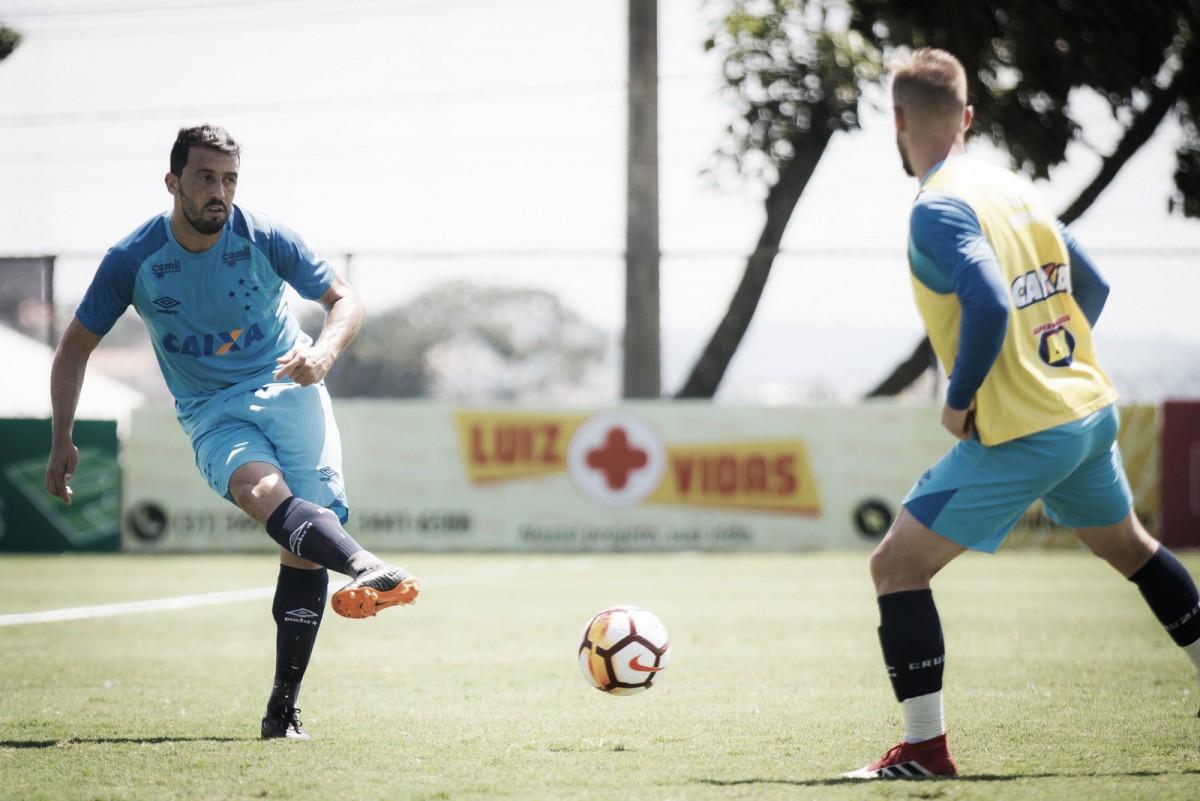 Recuperado de lesão, Edilson é novidade no Cruzeiro para o clássico contra Atlético-MG