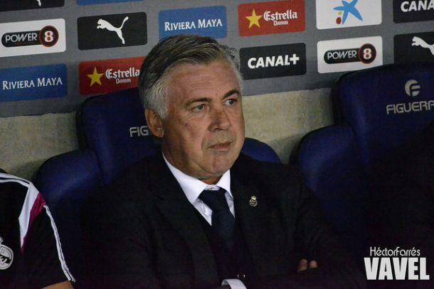 """Ancelotti: """"Jugamos bien y con mucha concentración"""""""