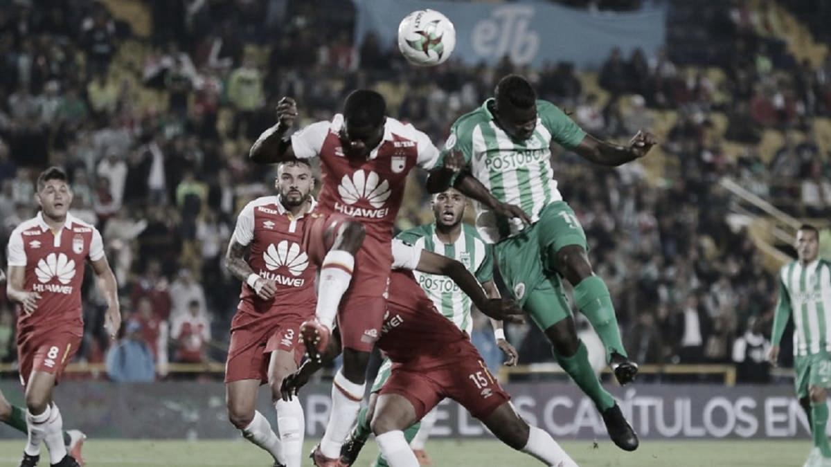 Novedades y convocados para el juego entre Atlético Nacional y Santa Fe