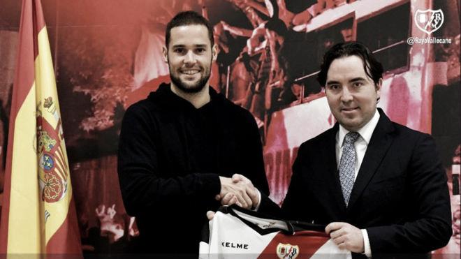 Mario Suárez ficha por el Rayo Vallecano hasta 2019