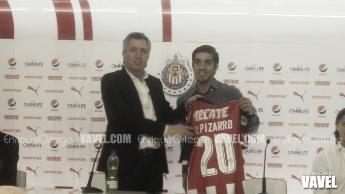 """Rodolfo Pizarro: """"Estoy ilusionado, es un sueño cumplido"""""""