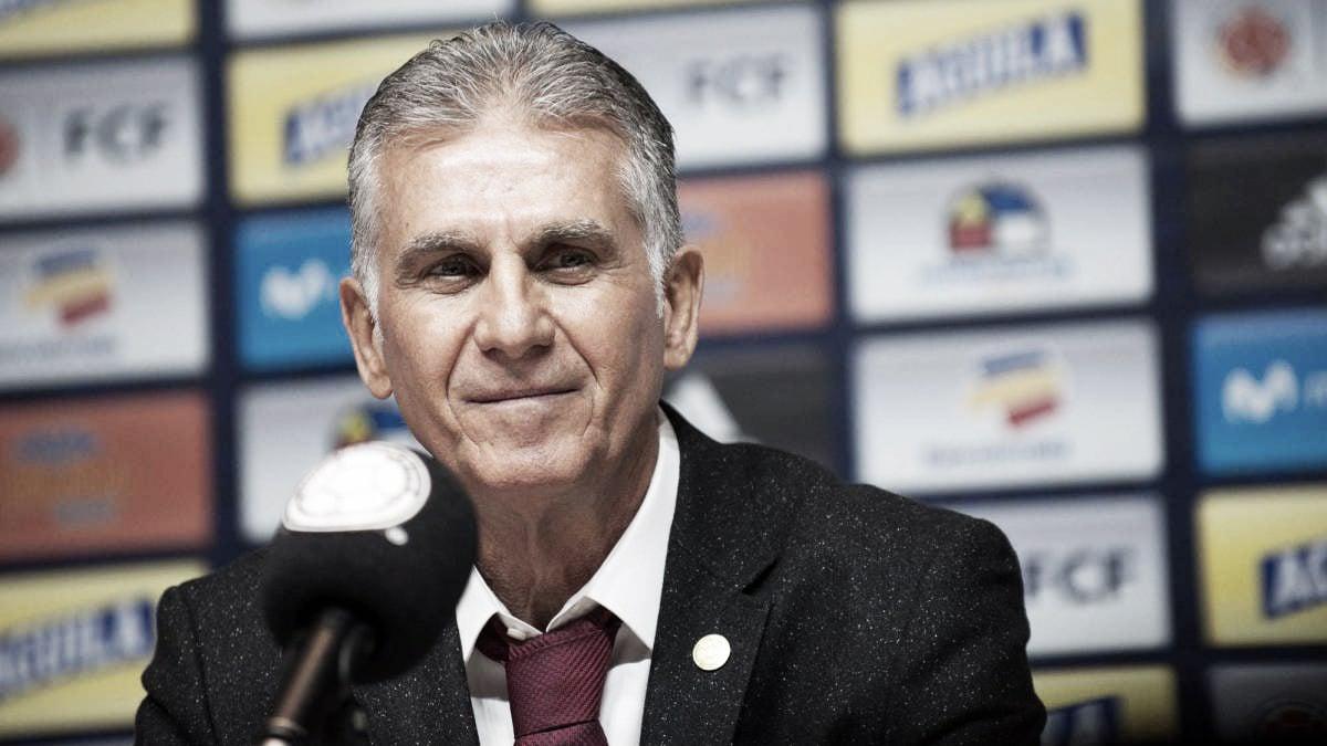Carlos Queiroz dio su primera convocatoria con la Selección Colombia de mayores