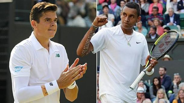 Kyrgios And Raonic Withdraw From Paris Masters Due To Injury