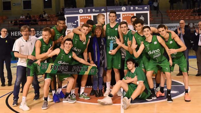 El Divina Seguros Joventut, campeón del torneo de Hospitalet