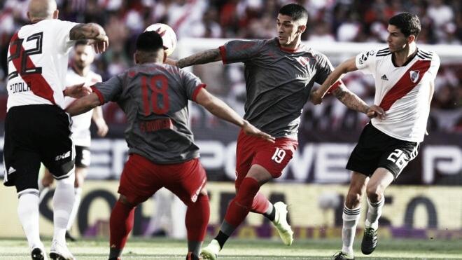 River enfrenta a Independiente, en el postergado de la Superliga