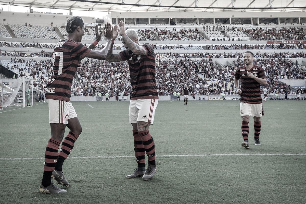 Bruno Henrique brilha, Fluminense reage, mas Flamengo vence clássico agitado
