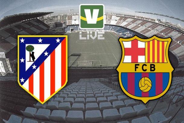 Atlético de Madrid x Barcelona, La Liga
