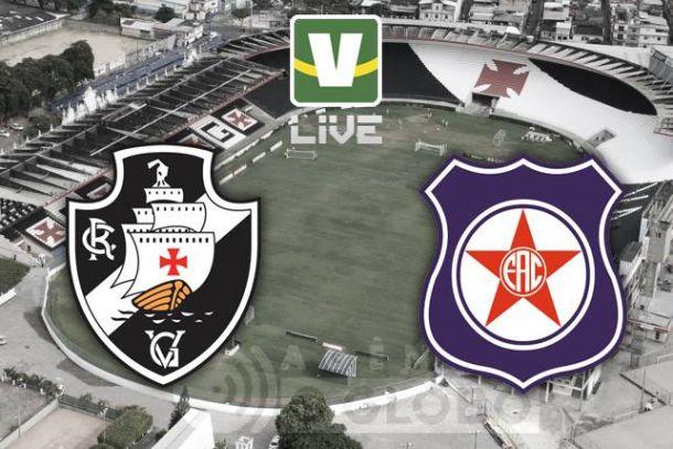 Vasco x Friburguense, Campeonato Carioca