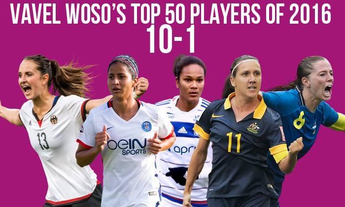VAVEL Top 50 Female Footballers of 2016: 10-1