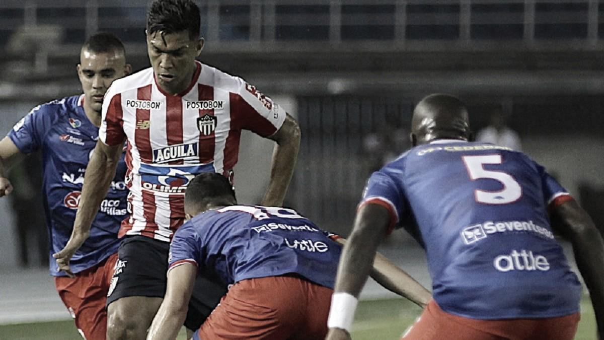 Pasto también le quitó un punto al Junior en Barranquilla