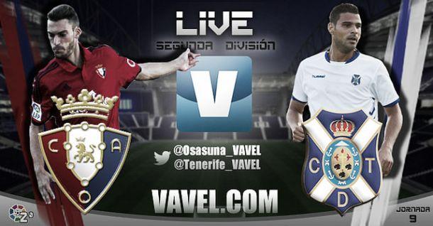 Osasuna - Tenerife en directo online