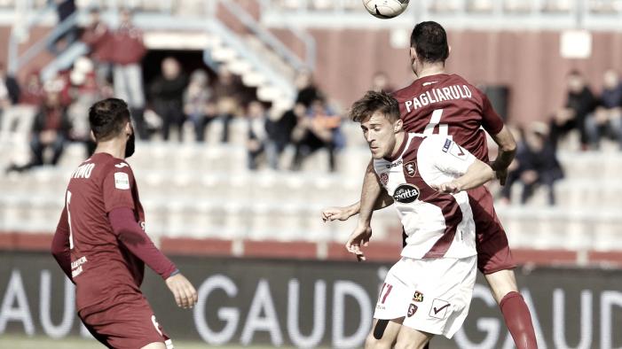 Serie B: Salernitana ancora KO fuori casa, il Trapani vince e si rilancia per la salvezza