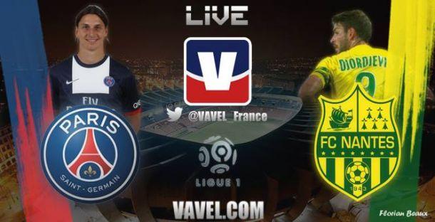 Live Paris Saint-Germain - Nantes, le match en direct